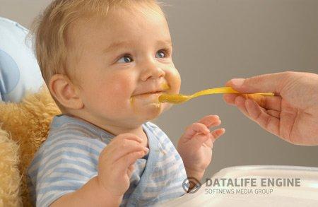 Детское питание для самых маленьких